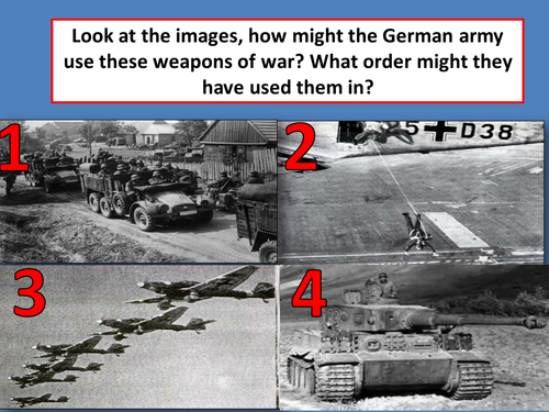 To explain why Blitzkrieg was so successful