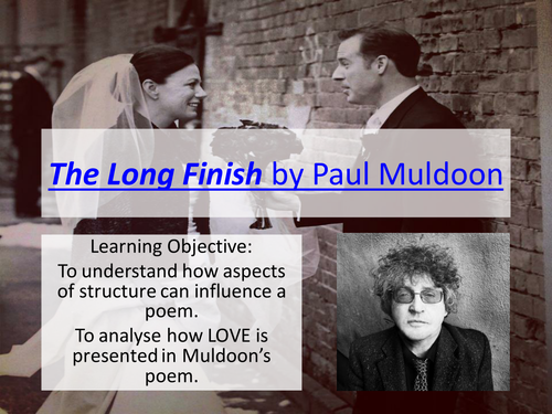 The Long Finish by Paul Muldoon