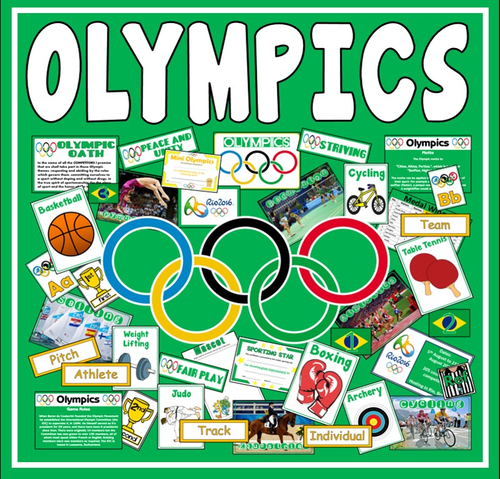olympics teaching resources display sports geography rio 2016 pe ks1 2
