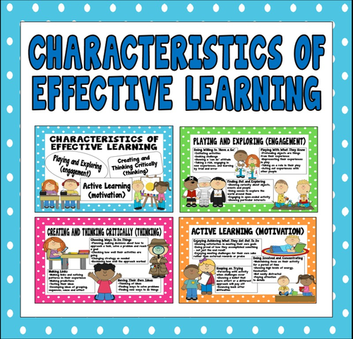 characteristics of learning poster by lindsaygaughan - Teaching ...