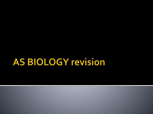 OCR A level Bio revision new spec 2015