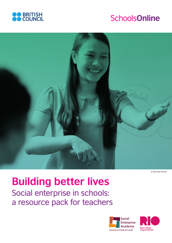 Social Enterprise Education Pack by TheBritishCouncil
