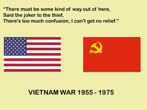 Vietnam War - All along the Watchtower