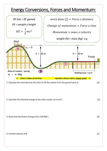 Gcse physics coursework roller coasters