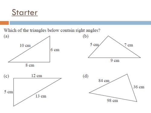 SOHCAHTOA - Basic trigonometry