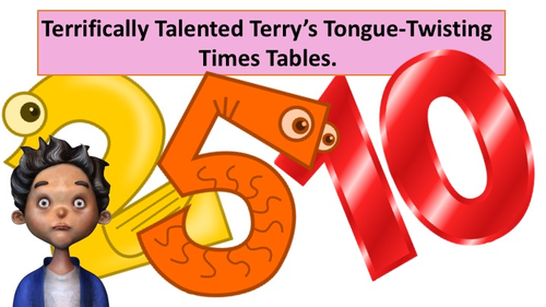 Times Table Twisters! (2x, 5x & 10x Tongue Twister Times Tables)