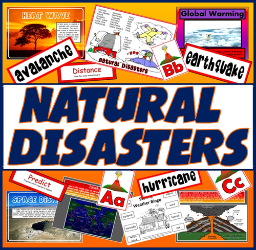 Geography Natural Disasters Quiz