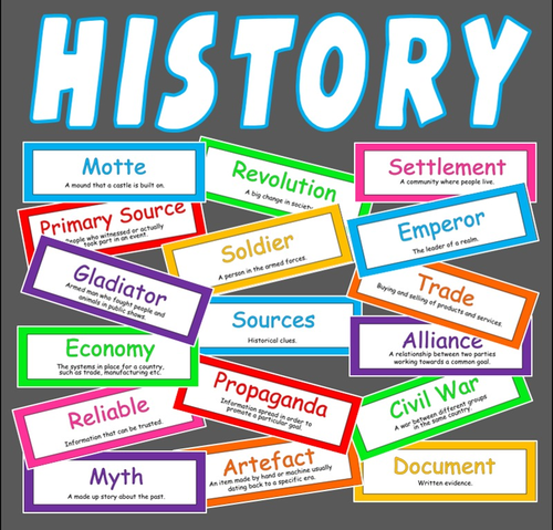 200 HISTORY FLASH CARDS TEACHING RESOURCE CLASSROOM DISPLAY key ...