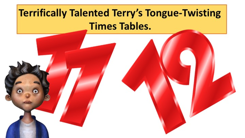 Times Table Twisters! (11x & 12x Tongue Twister Times Tables)