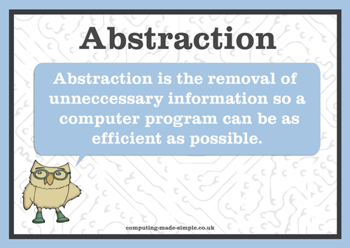 Computing definition posters
