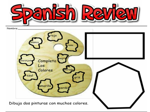 Spanish Review Assessment