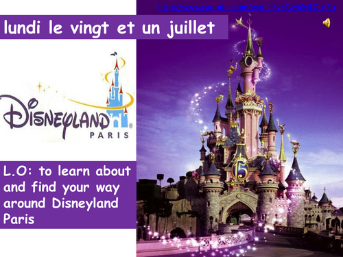 Cultural lesson  - Disneyland Paris