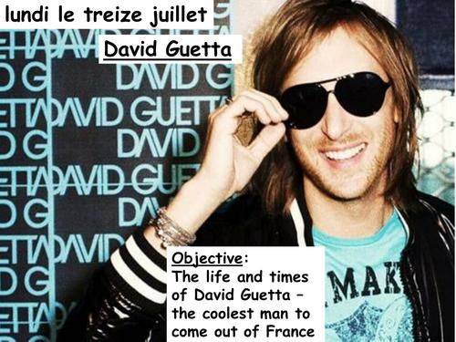Cultural lesson - David Guetta