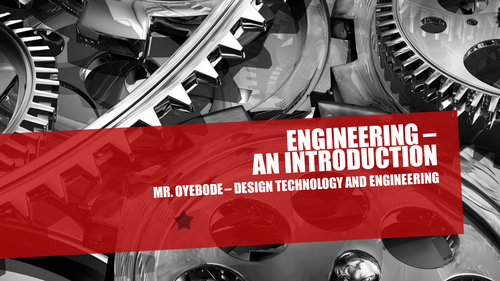 Engineering - An Introduction