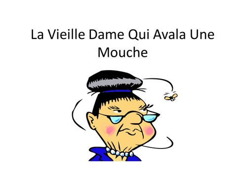 La Vieille Dame Qui Avala Une Mouche - The Old Lady Who Swallowed a Fly Story
