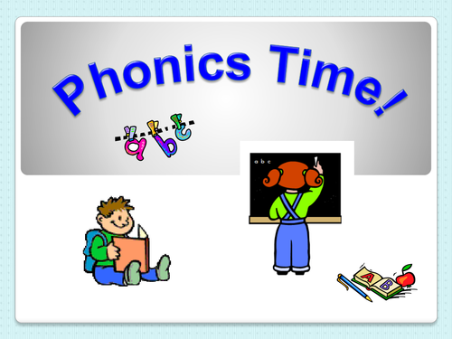 Phonics introduction to 'ow'