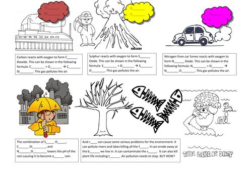 Biology - Air Pollution (Acid Rain) Fundamentals