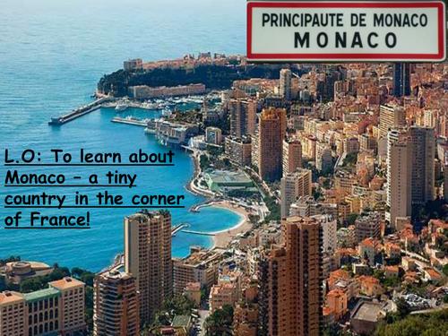 Cultural lesson about Monaco.