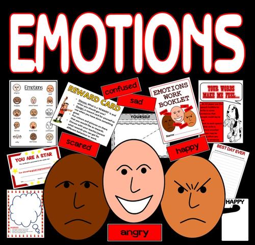 EMOTIONS FEELINGS TEACHING RESOURCES KS1, KS2, KS3 BEHAVIOUR ...