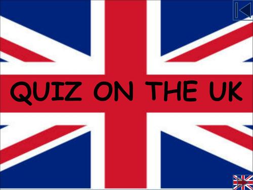 Quiz on the UK - London