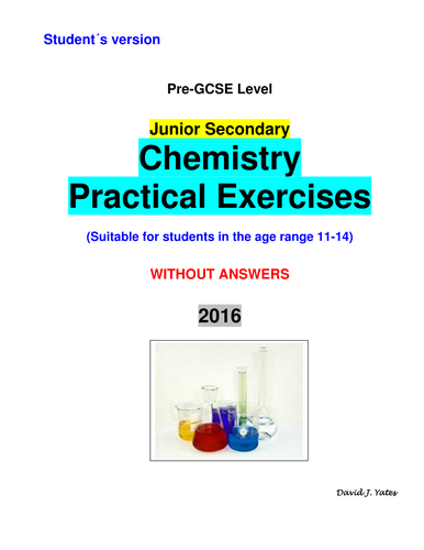 Junior Secondary Chemistry Practical Exercises (Student's version)