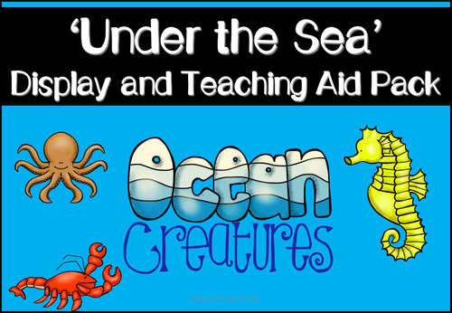 Under the Sea Display Pack, Fact Files and Flashcards
