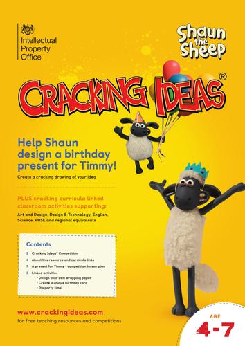 Cracking Ideas - Help Shaun design a birthday present for Timmy!