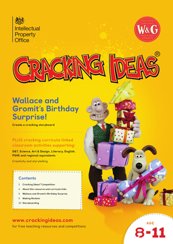 Cracking Ideas - Wallace and Gromit's Birthday Surprise!