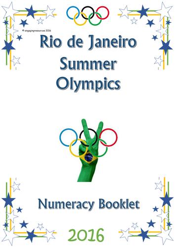 Rio Olympics 2016 themed numeracy activities