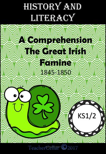 Reading Comprehension The Great Irish Famine KS1/2