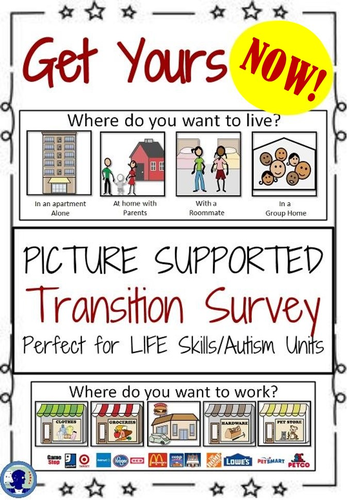 Student Transition Worksheet and Parent Survey for Special Education
