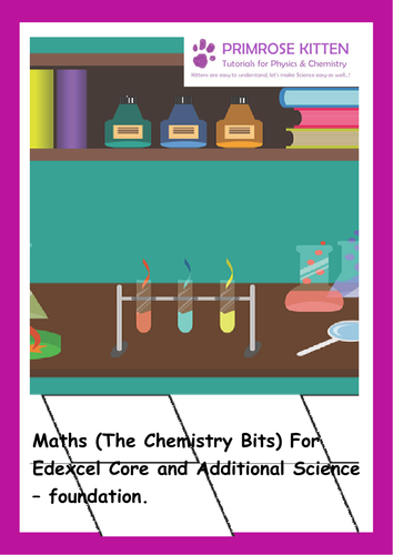 Maths (The Chemistry Bits) For Edexcel Core and Additional Science –  foundation  e-book Inc  Answers