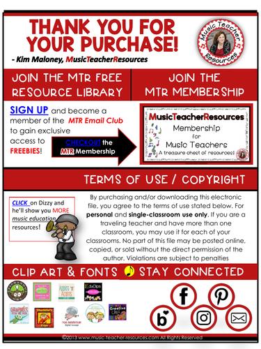 Rhythm Worksheets Set 1