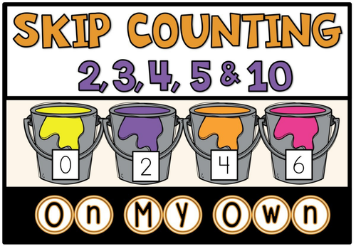 how to teach skip counting by 5