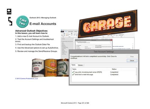 Microsoft Outlook 2013: E-mail Accounts