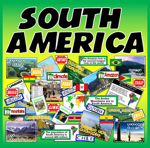 South america resources language geography features display south america resources language geography features display spanish portuguese by hayleyhill teaching resources tes gumiabroncs Images