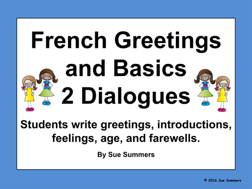 how to teach basic french