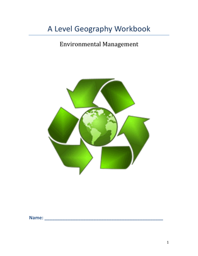 Environmental Management Workbook