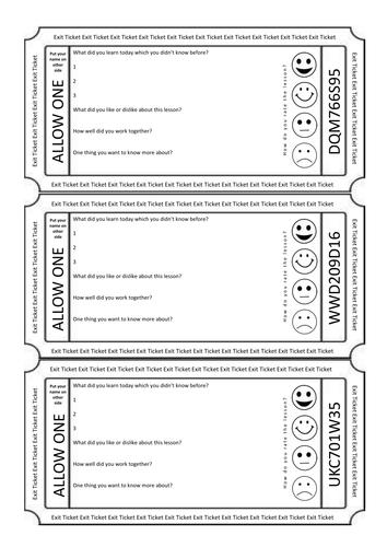 exit ticket plenary activity assessment feedback golden nugget mobile phone post card bundle by. Black Bedroom Furniture Sets. Home Design Ideas