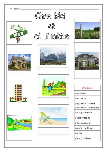 FRENCH - Chez Moi et Où J'Habite (Introduction)