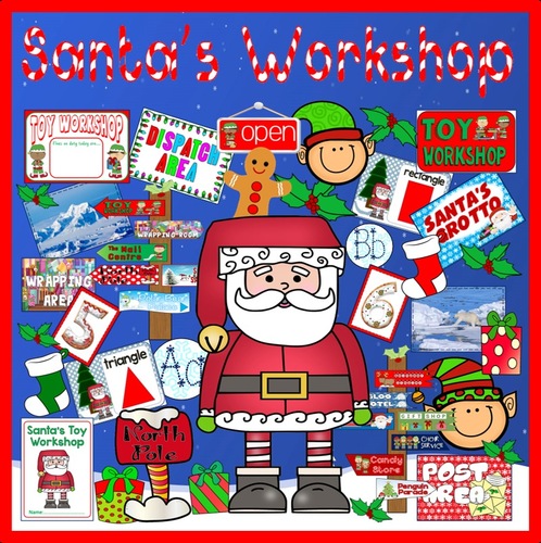 santas toy workshop role play teaching resources christmas display eyfs ks1 by hayleyhill teaching resources tes