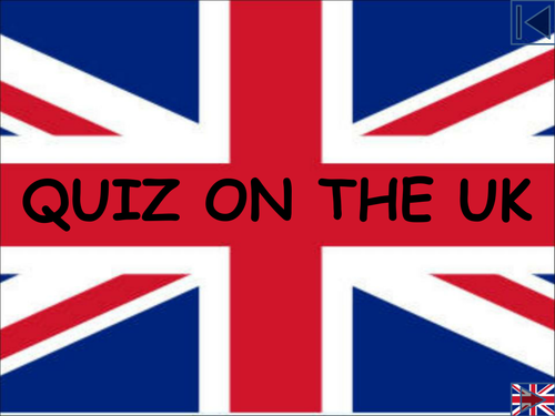 Quiz on the UK - Famous People