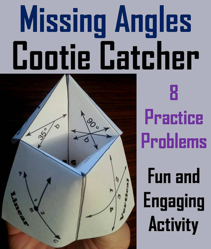 Missing Angles Cootie Catchers