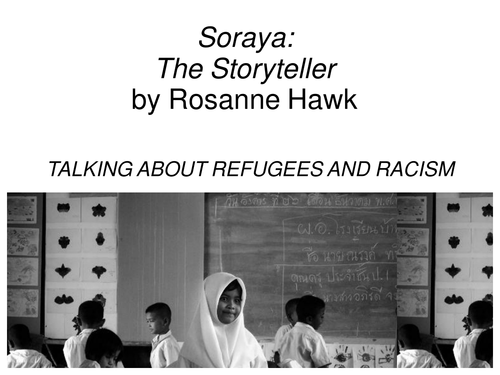 Book Study: Soraya: The Storyteller Chapter 1