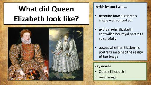 The Tudors - Queen Elizabeth I's Image