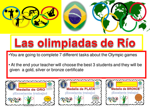 Río olympic games ( MFL project)