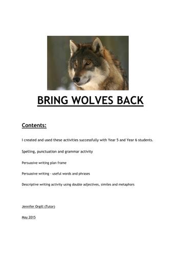 Bring Wolves Back