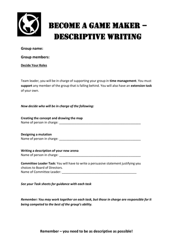 discursive essay writing for gcse creative writing gcse  writing skills sow using novels to inspire the hunger games harry potter poetry