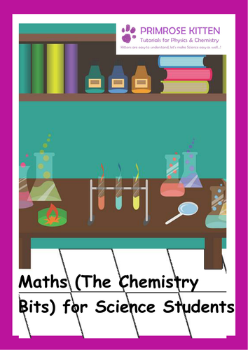 Maths (The chemistry bits) for science students. e-book inc. answers