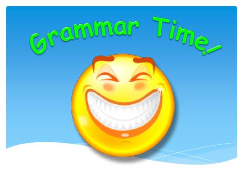 Year 1 Simple Grammar Pack